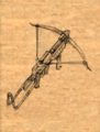 Crossbow of Affliction item artwork BG2.png