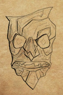 The Visage item artwork BG2