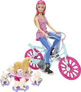 Great Puppy Adventure Spin Ride Pups Doll 2