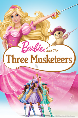 Barbie and The Three Musketeers Digital Copy