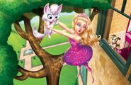 Book Illustration of Princess Power 4