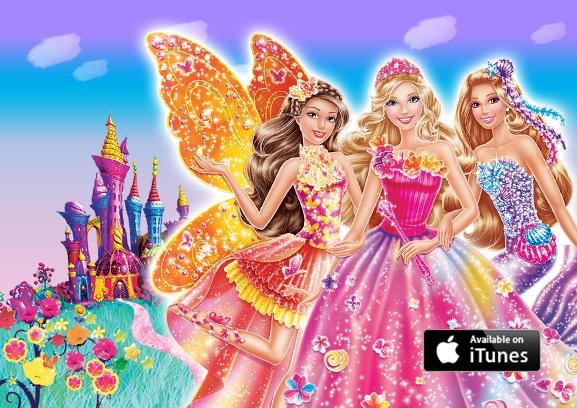 Barbie And The Secret Door Movie Poster Barbie And The Secret Door
