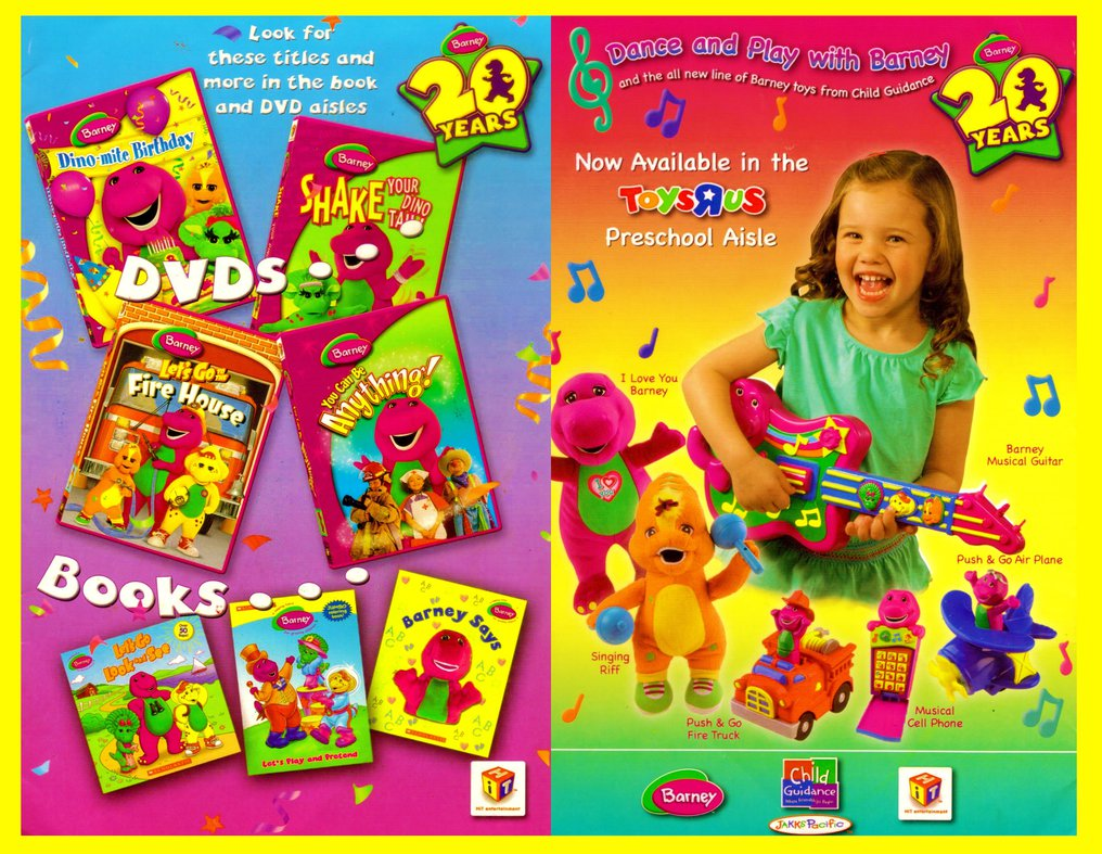 barney u0027s 20th anniversary barney wiki fandom powered by wikia