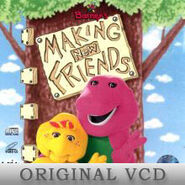 Barney's Making New Friends Original VCD