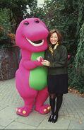 Sheryl-leach-und-barney-der-dinosaurier