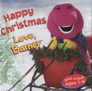 Happy Holidays Love Barney UK CD
