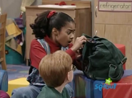 Tosha and her Backpack