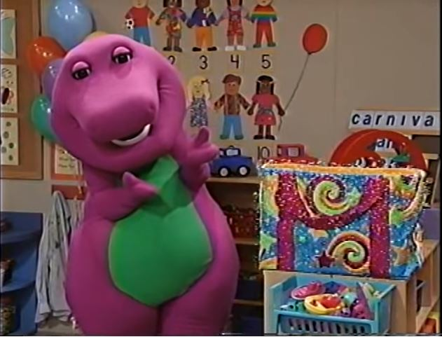 the barney bag barney wiki fandom powered by wikia