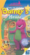 Barney is in house