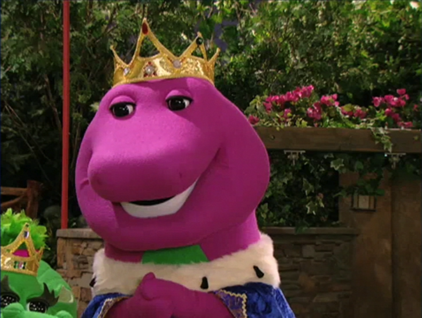 image king barney the princess and the barney wiki