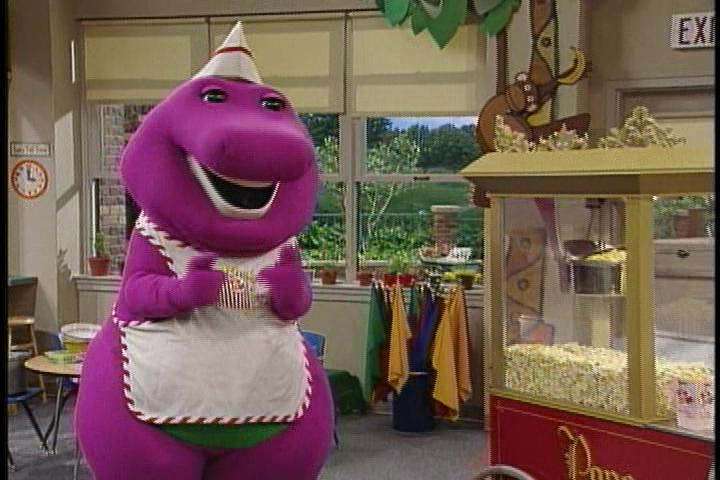 The Popcorn Song Barney Wiki Fandom Powered By Wikia