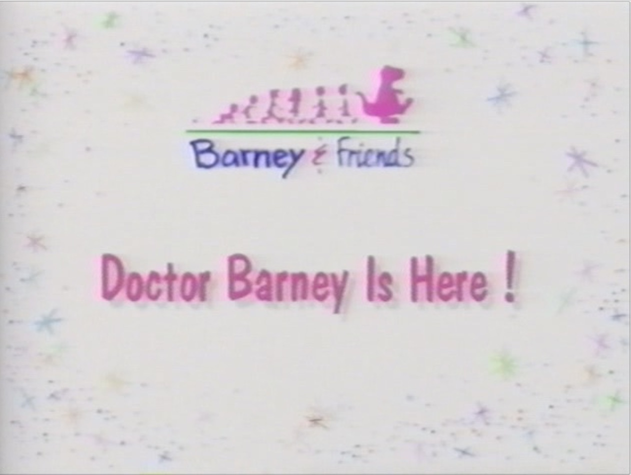 doctor barney is here barney u0026friends wiki fandom powered by wikia