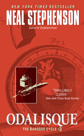Cover of Odalisque (book) Mass PB 9780060833183