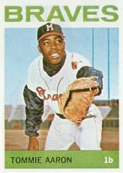 Tommie Aaron topps 1964