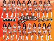 2009 Marlins Mermaids