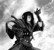 Yashamaru using his Kokujou