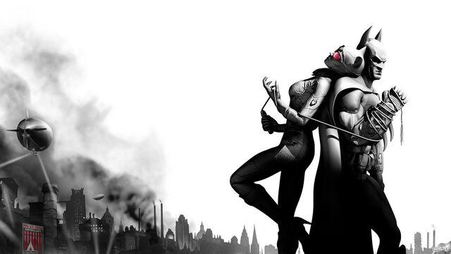 File:Batman and Catwoman Arkham City.jpg