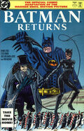 Batman Returns Comic Book Cover 2