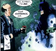 Alfred & Batman