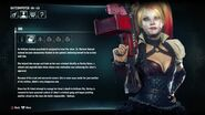 Batman Arkham Knight Character Bios Harley Quinn