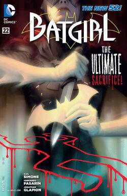 Batgirl Vol 4-22 Cover-1