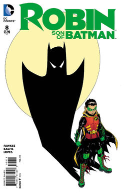 Robin Son of Batman Vol 1-8 Cover-1
