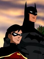 Robin and Batman yj