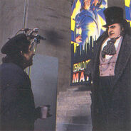 Batman Returns - Burton and DeVito 3