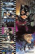 Batman Returns Comic Book Cover Back