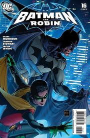 Batman and Robin-16 Cover-2