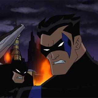 Nightwing y Batman (Año 2027)