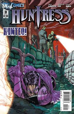 Huntress Vol 3-3 Cover-1
