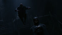 Lawrence attacks Batman