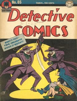 Detective Comics Vol 1-85 Cover-1