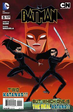 Beware the Batman Vol 1-5 Cover-1