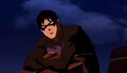 Nightwing congradulates Robin