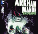 Arkham Manor: Endgame Issue 1