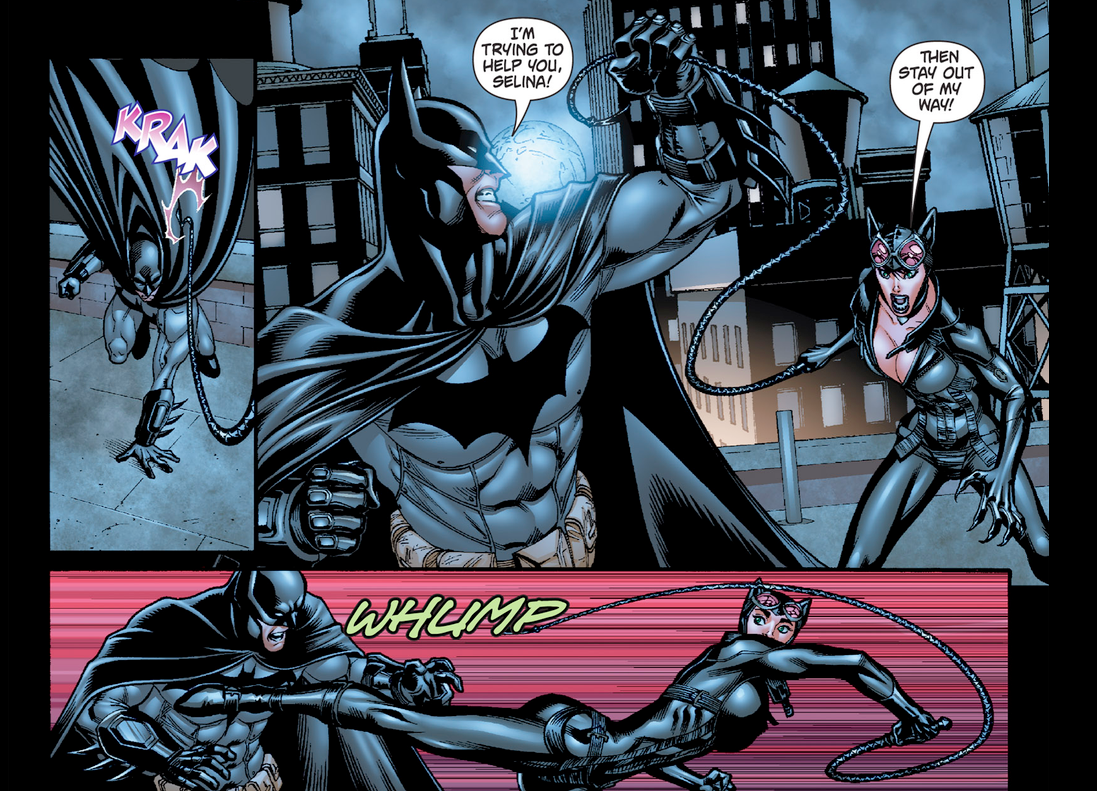Catwoman and batman romance