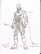 Batman Earth-2 DCnU design