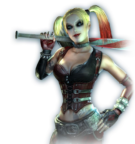 File:Harley Quinn Profile Image Arkham City.png