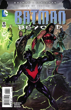 Batman Beyond Vol 6-10 Cover-1