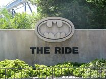 Batman The Ride Entrance