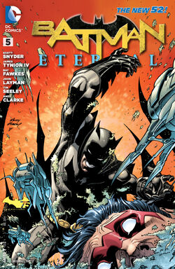 Batman Eternal Vol 1-5 Cover-1