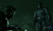 Batman vs the head of the demon 4
