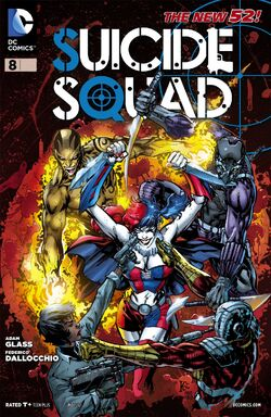 Suicide Squad Vol 4-8 Cover-1