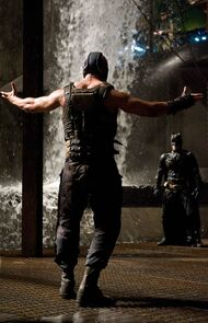 Bane and Batman TDKR