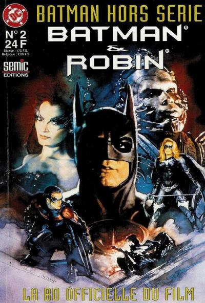 batman et robin la bd officielle du film wiki batman