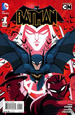 Beware the Batman Vol 1-1 Cover-1