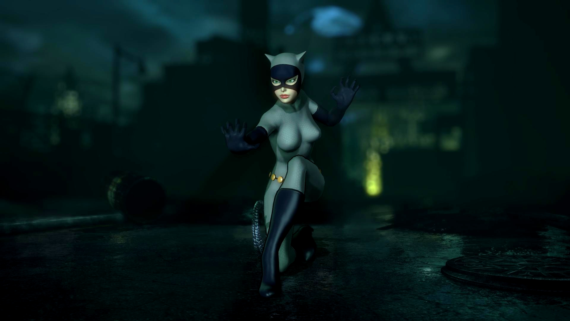 Arkham city cat woman mod naked movie
