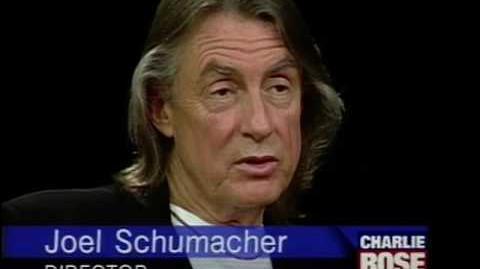 Joel Schumacher interview on Charlie Rose (1995)